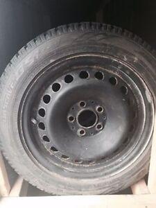 Jantes et pneus TOYO 205/55/R16 mercedes B200