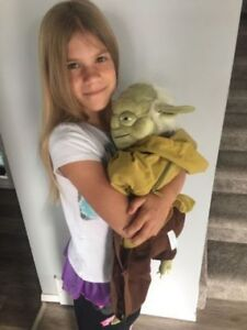 Brand new Star Wars Yoda backpack, authentic