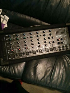 Yorkville mp8 8 channel powered mixer