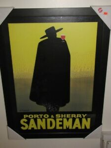 PORTO & AMP - SHERRY SANDEMAN BY GEORGES MASSIOT framed Picture