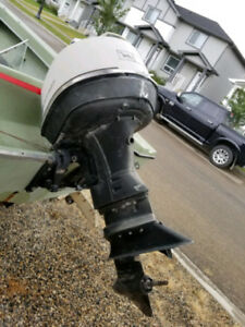 65 hp Johnson outboard for parts