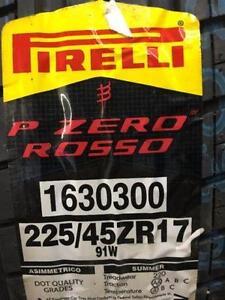 Brand New Pirelli Pzero Rosso 225/45R17 Summer Tires