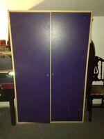 Blue Wardrobe for Sale! 75 OBO moving soon!