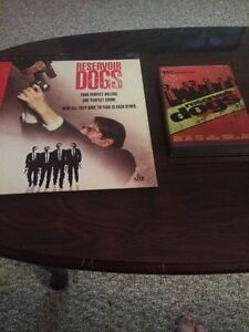 Reservoir Dogs Laserdisc + Gas Can DVD