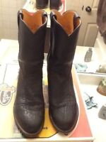 Like new Leather Men's Cowboy Boots