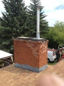 Chimney repairs , wood stove installations Edmonton Edmonton Area image 3