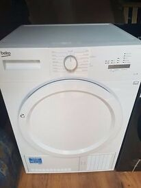 BEKO DCX71100W Condenser Tumble Dryer White B Energy Class 7 kg Drying