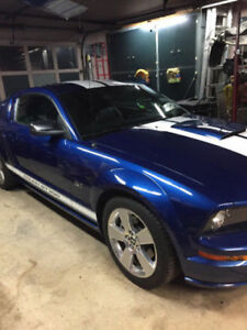 Mustang GT with Roush Supercharger
