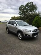 2011 Holden Captiva CG MY10 CX AWD Silver 5 Speed Sports Automatic Wagon Yarrawonga Moira Area Preview