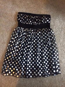 Excellent condition Polka Dot top, size large