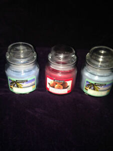 Mini Jar candles and wedding candles