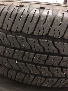 GOOD YEAR TRUCK TIRES 265/70/R16 ON COLORADO RIMS