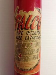 Palco Tire Inflator / Fire Extinguisher - Collectors Item