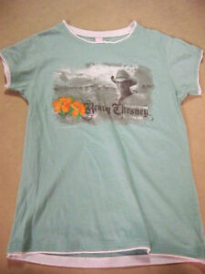 KENNEY CHESNEY T SHIRT-WOMAN'S