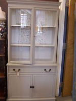 Antique Chalkpainted Cabinet
