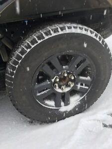 Blizzak Winter tires (275/65/r18) on F150 Rims