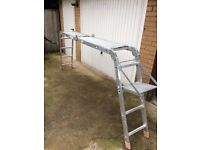 Aluminium Folding-in 4 Section Ladder