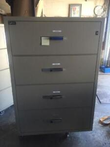 Gardex Fire Proof Lateral Filing Cabinet