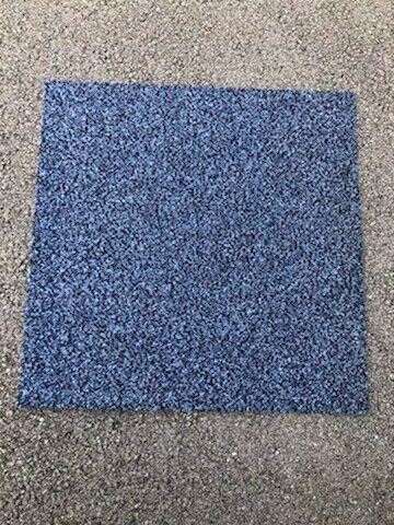 Premium Blue Carpet Tiles 1 Each