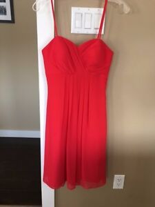 Coral/Pink Prom or Bridesmaid Dress