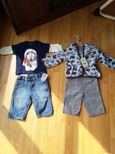Baby boys clothing new with tags