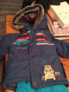 Superbe habit de neige Souris Mini pour garçon, taille 24 mois