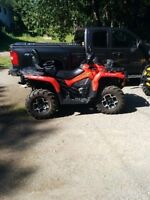 Outlander XT stock rims and tires