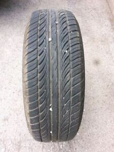 5 Bolt rims with good tires - FULL SET