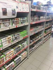 We sell used Games and Accessories. Nintendo, Playstation, Xbox!