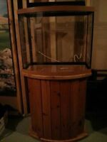 26 Gallon Aquarium w/ Stand (Everything you need included)