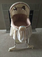 Baby Billy Rocking Bassinet (Very cheap, almost brand new)
