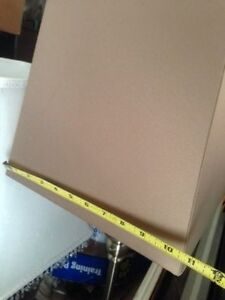 """36"""" Tall table / desk lamp with square shade Cambridge Kitchener Area image 4"""
