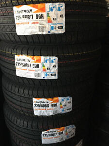 225-60-17 NEW ALL SEASON TIRES ON SALE