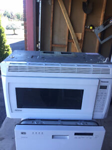 2016 lg over the range microwave for sale