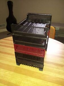 Set of 5 stackable letter trays London Ontario image 1