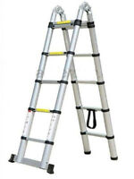 ​New Straight & Dual Telescopic Ladder for Sale $79.99