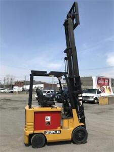 2EC25 Electric Fork lift , Chariot elevateur usage 5000 lbs Cat