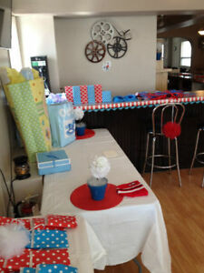 Shower Birthday Decorations Thing 1&2 Dr Seuss Sarnia Sarnia Area image 3