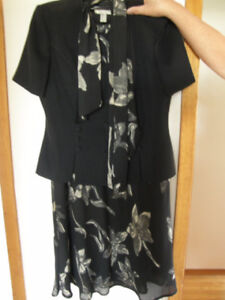 2 pce suit (jacket and skirt)