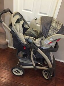 graco quarto stroller and snugride 30 car seat