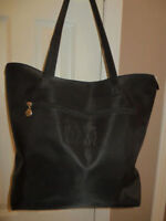 SAKS Fifth Ave black tote or New York tote