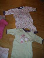 Lot de vêtements été fille 3 mois