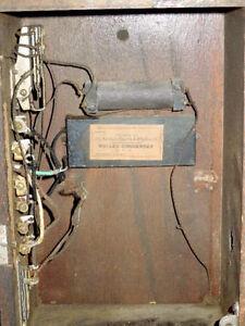 Antique Oak Wall Phone Northern Electric Model 317 Sarnia Sarnia Area image 8