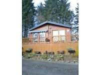 2 BEDROOMED HOLIDAY HOME/LODGE-LOG CABIN BEATTOCK selling due to relocation