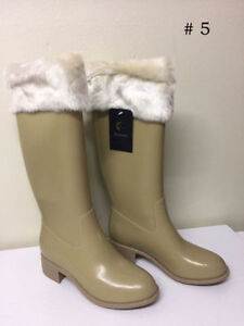 NEW w/ TAGS Rain Boots for Women by Burnetie