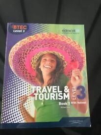 Travel and tourism level 3 btec book