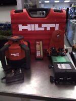 Laser Hilti PRI 36 avec case et accessoires 999.95$