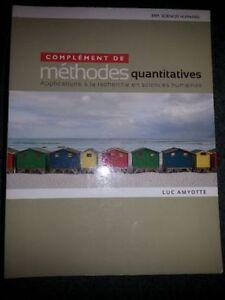 Complément de méthodes quantitatives Luc Amiotte