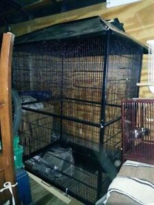 Large flight cage   Can be used for birds, sugar babies Kitchener / Waterloo Kitchener Area image 1