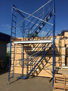 Scaffold Stairway & Handrails for $299.00 a Set (6030 50 Street)
